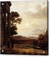 The Expulsion Of Hagar  Acrylic Print