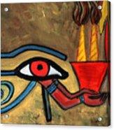 The Eye Of Horus Acrylic Print
