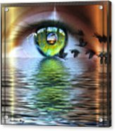 The Eye Of The Observer Acrylic Print
