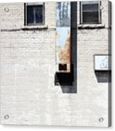 The Eyes Are The Windows To This Building Acrylic Print