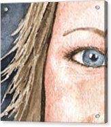 The Eyes Have It - Jill Acrylic Print