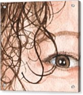 The Eyes Have It - Stacia Acrylic Print