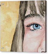 The Eyes Have It - Bryanna Acrylic Print