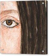 The Eyes Have It- Katelyn Acrylic Print
