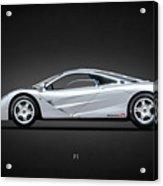 The F1 Supercar Acrylic Print