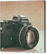 The Fabulous Nikon Acrylic Print