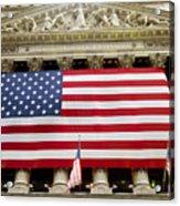 The Facade Of The New York Stock Acrylic Print