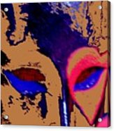 The Face Of Destiny Acrylic Print