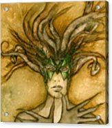 The Face Of Dryad Acrylic Print
