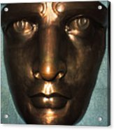 The Face Of Liberty Acrylic Print