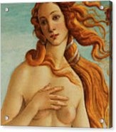 The Face Of Venus Acrylic Print