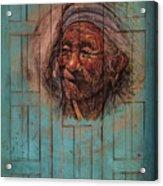 The Face Of Wisdom Acrylic Print