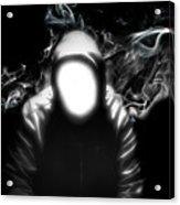 The Faceless Man Acrylic Print