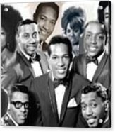 The Faces Of Motown Acrylic Print