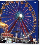 The Fair At Night Acrylic Print