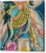 The Fairies Of Wine Series - Chardonnay Acrylic Print