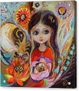 The Fairies Of Zodiac Series - Scorpio Acrylic Print