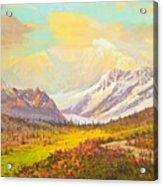 The Fall Colors Of Alaska Route 8 No.3 Acrylic Print
