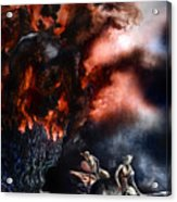 The Fall Of Azturath Acrylic Print