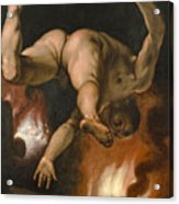 The Fall Of Ixion Acrylic Print