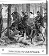 The Fall Of Reynolds - Civil War Acrylic Print