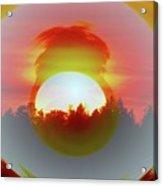 The Falling Sun  Acrylic Print