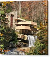 The Fallingwater Acrylic Print