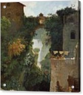 The Falls Of Tivoli Acrylic Print