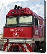 The Famed Ghan Train  Acrylic Print