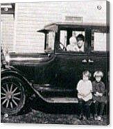 The Family Car Acrylic Print