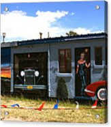 The Famous Murals On Route 66 Acrylic Print