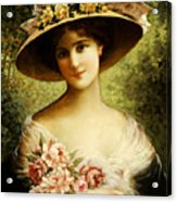 The Fancy Bonnet Acrylic Print