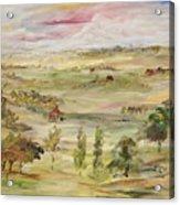 The Far Away Place Acrylic Print