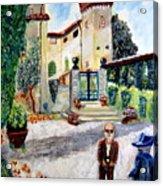 The Farm In Montelopio -pisa Acrylic Print