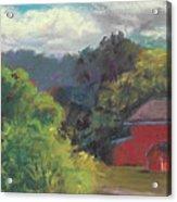 The Farm To The East Acrylic Print