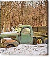 The Farm Truck Acrylic Print