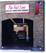 The Fast Lane 2 Acrylic Print