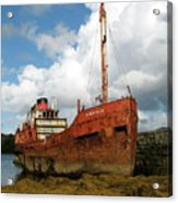 The Fate Of Poor Pibroch Acrylic Print