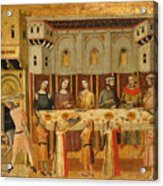 The Feast Of Herod And The Beheading Of The Baptist Acrylic Print