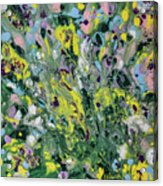 The Feeling Of Spring Acrylic Print