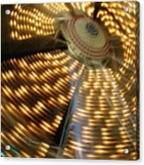 The Ferris Wheel At Night Acrylic Print