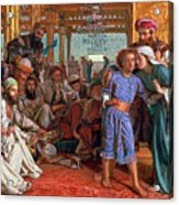 The Finding Of The Savior In The Temple Acrylic Print by William Holman Hunt