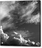 The Fine Art Of Clouds Acrylic Print