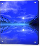 The Fiords Of Thor. Acrylic Print