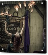 The Fire Dancer Acrylic Print