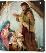 The First Christmas Acrylic Print