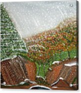 The First Snow Acrylic Print