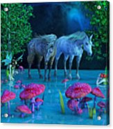 The First Time We Saw Horses Acrylic Print