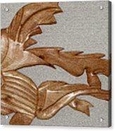 The Fish Skeleton Acrylic Print