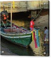The Fisherman's Kids Acrylic Print
